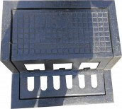 DUCTILE IRON WALK STEP COVER