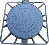Square Frame  Round ductile covers  class C 250